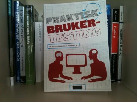 Bilde av boken Praktisk brukertesting i bokhylle