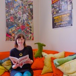 Lina Holmgren på InUse sitt Stockholmskontor